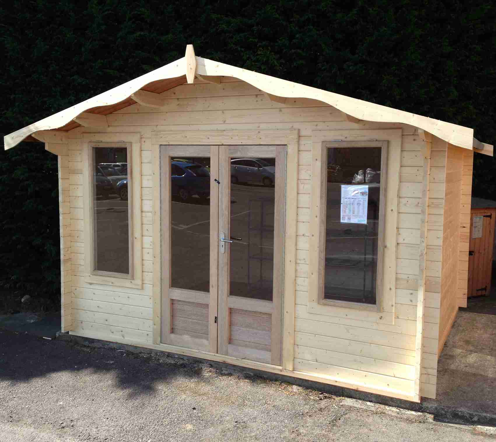 Charnwood C Log Cabin