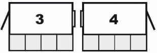 Layout options for single door Wallsheds