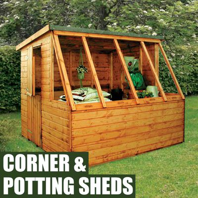 Corner & Potting Sheds